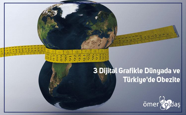 3 Dijital Grafikle Dünyada ve Türkiye'de Obezite